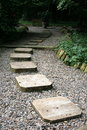 Stone path Royalty Free Stock Photo