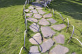 Stone pathway Royalty Free Stock Photos