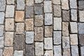 Stone pavement beautiful photo of old natural background Stock Image