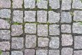 Stone pavement in europe texture and background Stock Photography