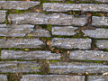 Stone pavers background in nature a textured detail Royalty Free Stock Photography