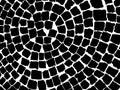 Stone pavers pattern Royalty Free Stock Photo