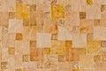 Stone quadratic background or texture Royalty Free Stock Photo