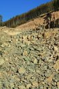 Stone quarry  Royalty Free Stock Photography