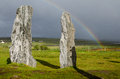 Stone ring Scotland harris Island Royalty Free Stock Photo