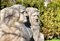 Stone sculptures Royalty Free Stock Photo