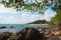 Stone sea in Thailand Royalty Free Stock Photo