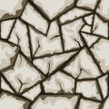 Stone seamless pattern vector illustration of brown Royalty Free Stock Photography