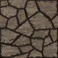 Stone seamless pattern vector illustration of brown Stock Image