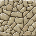 Stone seamless pattern vector illustration of brown Stock Photography