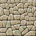Stone seamless pattern vector illustration of brown Royalty Free Stock Photo