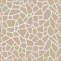 Stones beige background. Seamless mosaic tracery