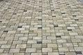 Stone slabs walkways like texture Stock Photography