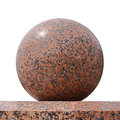 Stone sphere Stock Images