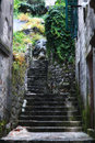 Stone stairs in old town Royalty Free Stock Photo