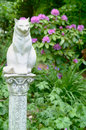 Stone Statue of a Cat 2 Royalty Free Stock Photo