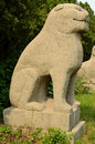 Stone Statue of Lion - Song Dynasty Tombs, China