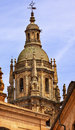 Stone Steeple New Salamanca Cathedral Spain Royalty Free Stock Photo