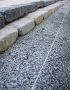 Stone steps construction Royalty Free Stock Photography