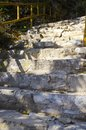Stone steps in Mountain Royalty Free Stock Photo