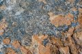 Stone texture blue and orange suitable for backgrounds textures etc Stock Image