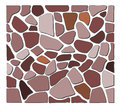 Stone texture brown gray and orange for floor wall or background Royalty Free Stock Image
