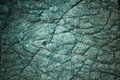 Stone texture green with cracks Stock Image