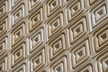 Stone Tile Facade On a Slant Royalty Free Stock Photo