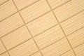 Stone tiles light colored rectangular Stock Photography