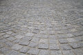 Stone tiles on the street Royalty Free Stock Photo