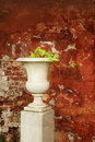 Stone vase Royalty Free Stock Photography