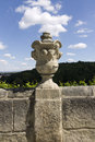 Stone vase decoration in Kutna hora Royalty Free Stock Photography