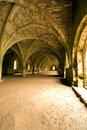 Stone vaulted ceilings Royalty Free Stock Photo