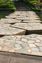 Stone walkway Stock Photos