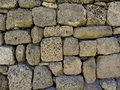 Stone wall abstract background with old Royalty Free Stock Photos