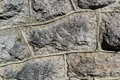 Stone wall background from the Royalty Free Stock Images