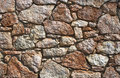 Stone wall background an old brown makes an excellent Stock Images