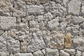 Stone wall background. Old stones. Royalty Free Stock Photo