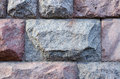 Stone wall from big blocks, background, texture series Royalty Free Stock Photo