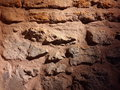 Stone wall brown Royalty Free Stock Photos