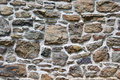 Stone wall close up of a suitable for backgrounds Royalty Free Stock Photo
