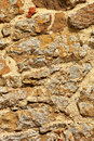 Stone wall closeup. Stock Images