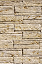 Stone wall closeup in sunny day Royalty Free Stock Photography