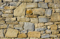 Stone wall closeup of use for construction business and designers Stock Images