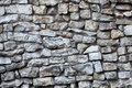 Stone wall facade. Textured pattern vintage bridge. macro view, soft focus Royalty Free Stock Photo