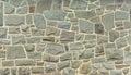 Stone wall fieldstone grey rock background Royalty Free Stock Photo