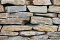 Stone wall fragment Royalty Free Stock Photography