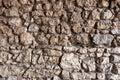 Stone Wall Made Of Irregular A...