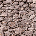 Stone wall old gray texture background Royalty Free Stock Images