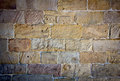 Stone wall old made ​​of stones Royalty Free Stock Image
